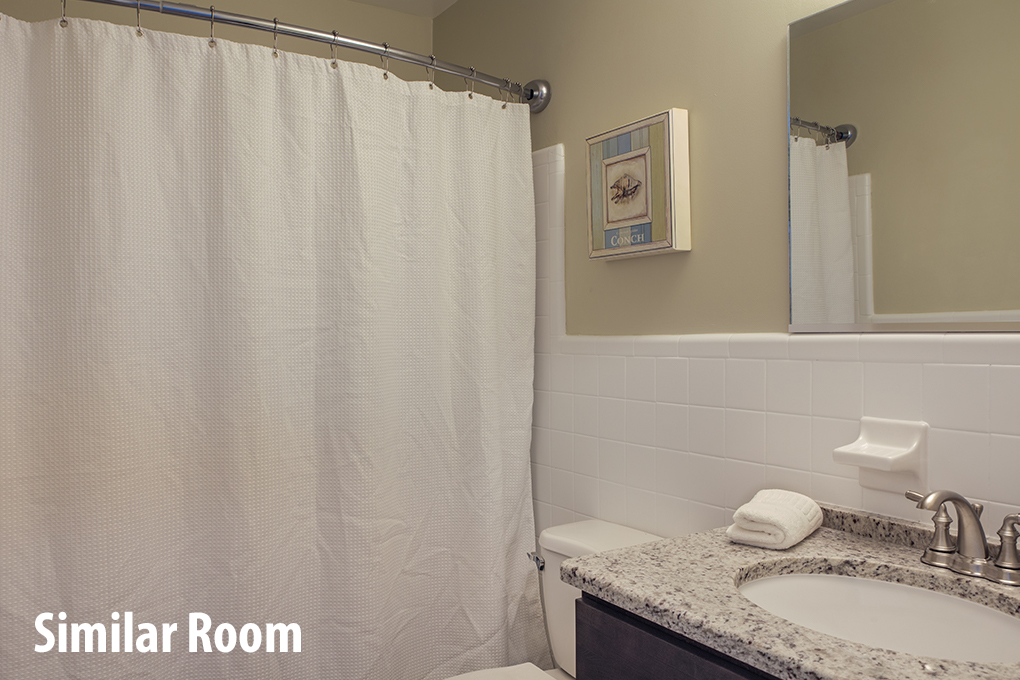 TH32:  The Currituck Sound Room | Furnishings & Decor will be Similar to the Room Pictured